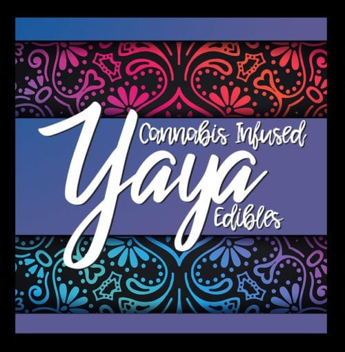 Yaya Edibles THC infused gummies