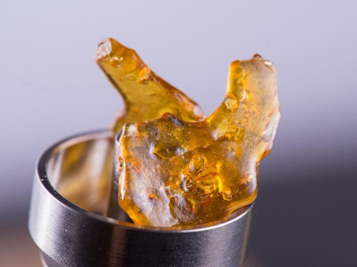 cannabis concentrates shatter